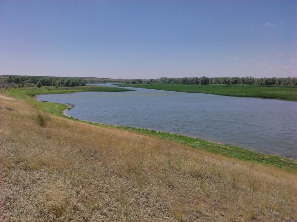 Река Дон. Вид с хутора Рюмино